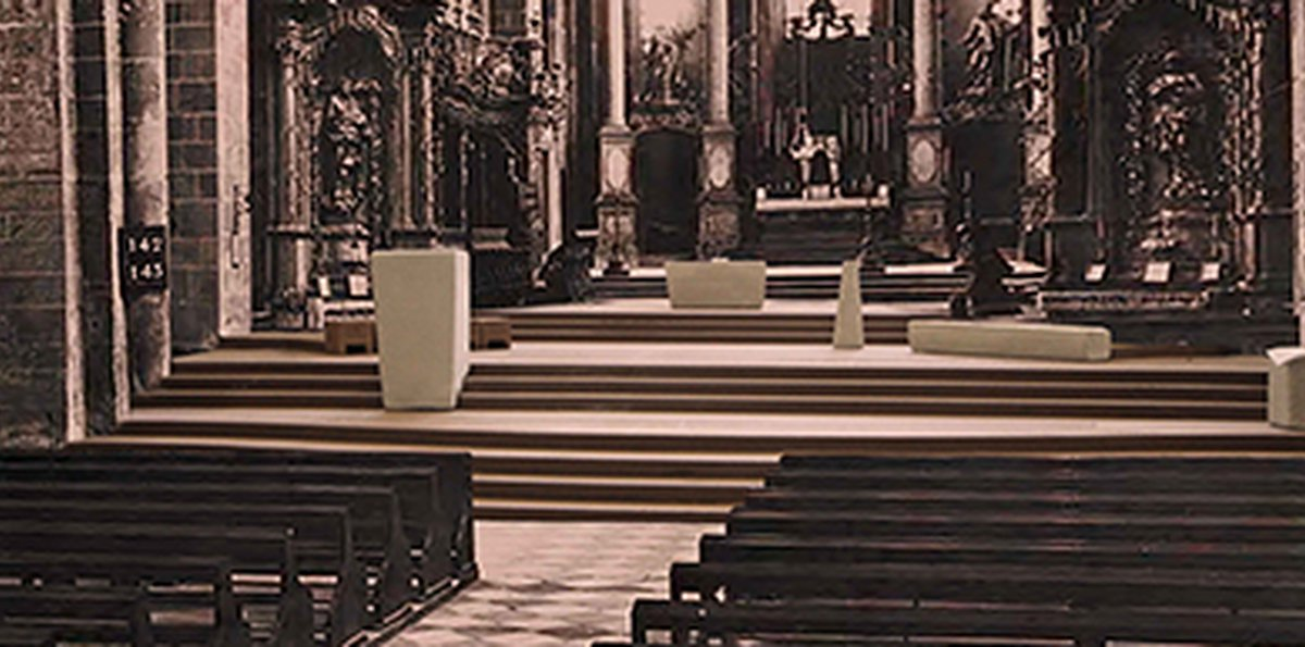 Redesigning St. Peter's liturgical spaces (Worms) - competition