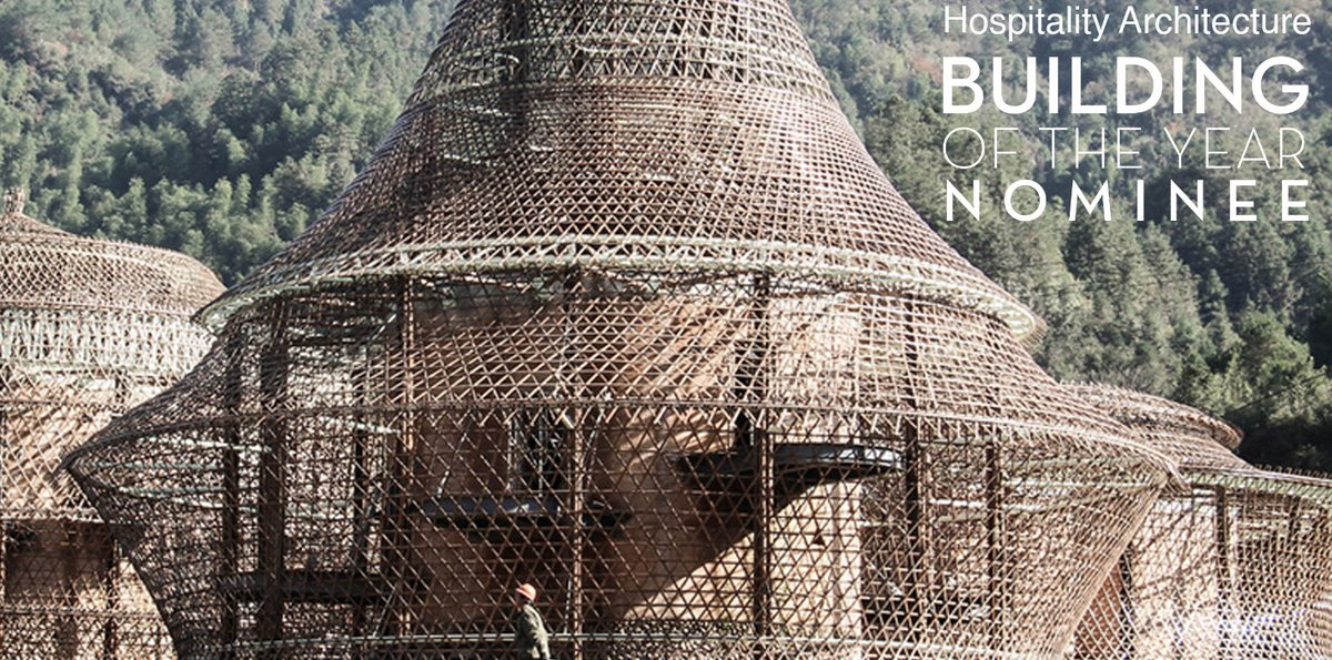 Bamboo Hostels China are under the 5 finalists on Archdaily